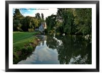 The Roundhouse Lechlade-on-Thames, Framed Mounted Print