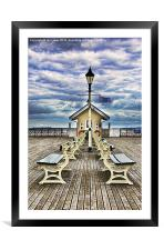 End Of The Pier Show, Framed Mounted Print
