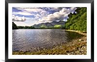 From Friars Crag Derwentwater, Framed Mounted Print