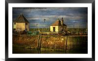The Harbour At Maryport, Framed Mounted Print