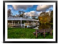 Whitchurch Toll Bridge, Framed Mounted Print
