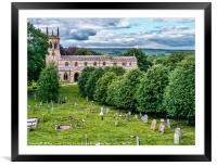 Church Of St Andrew Aysgarth, Framed Mounted Print