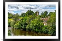 The Culloden Tower Richmond Yorkshire, Framed Mounted Print
