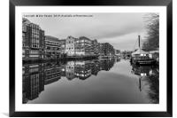 Redcliffe Quay, Bristol., Framed Mounted Print