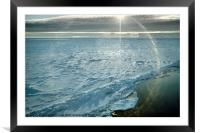 Due South 1.30am Ross Sea, Framed Mounted Print