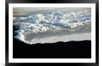 Sea Ice Antarctica, Framed Mounted Print