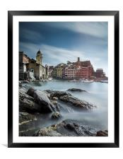 Vernazza , Framed Mounted Print