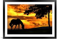 Peace in the valley, Framed Mounted Print
