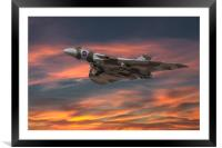 Vulcan_spirit of Great Britain, Framed Mounted Print