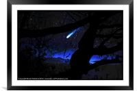 Through The Trees, Framed Mounted Print