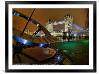 London Time, Framed Mounted Print