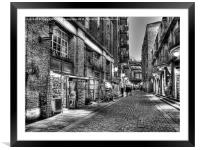 Shad Thames 2 - London, Framed Mounted Print