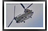 RAF Odiam Display Chinook - Dunsfold 2013, Framed Mounted Print