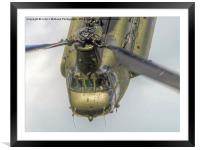 RAF Odiam Display Chinook 2 - Dunsfold 2014, Framed Mounted Print