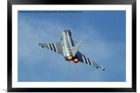 Afterburners On - Eurofighter Typhoon, Framed Mounted Print