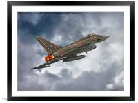 The Battle Of Britain Typhoon , Framed Mounted Print
