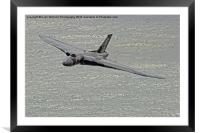 Vulcan XH558 from Beachy Head 2, Framed Mounted Print
