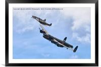 The Battle Of Britain Memorial Flight - RIAT 1, Framed Mounted Print