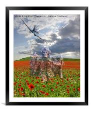 We Salute The Few, Framed Mounted Print