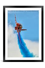 The Red Arrows At RIAT 2017 - 2, Framed Mounted Print
