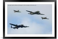The Battle of Britain Memorial Flight Cosford 1, Framed Mounted Print