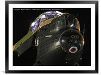 Just Jane at Night 2, Framed Mounted Print