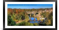 View From The Castle - Knaresborough Autumn, Framed Mounted Print
