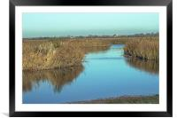 Otmoor Nature Reserve, Framed Mounted Print