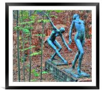 Ballet in the Woods, Framed Mounted Print