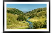 Smardale Gill, Framed Mounted Print