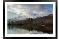 Coniston Old Man, Framed Mounted Print