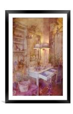 Delightful in Lavender, Framed Mounted Print