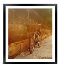 Cambridge, Framed Mounted Print