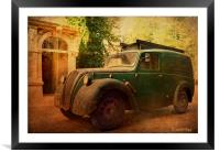 Morris Eight, Framed Mounted Print