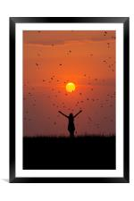Marvel at the beauty of the world, Framed Mounted Print
