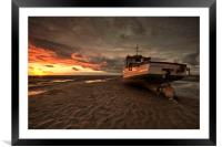 """""""CATCHING THE LIGHT Pt2"""" (Two Tone Sky), Framed Mounted Print"""