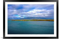 View from Revkiavik Iceland Harbour, Framed Mounted Print