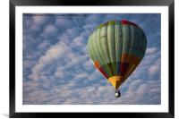 Photograph of a hot air balloon taken at the Putra, Framed Mounted Print