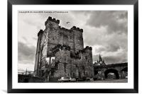 Newcastle's New Castle, Framed Mounted Print