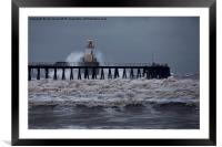 Choppy waters!, Framed Mounted Print