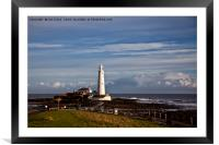 Sunshine at St Mary's, Framed Mounted Print
