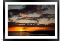 New Year's Day Sunrise (3), Framed Mounted Print