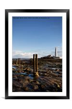 Morning at St Mary's Island (2), Framed Mounted Print