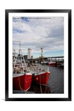 North Shields Fish Quay , Framed Mounted Print