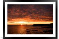 Peaceful start to Christmas Day, Framed Mounted Print