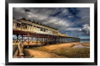 The Pier, Framed Mounted Print
