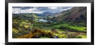 Nant Gwynant Valley, Framed Mounted Print