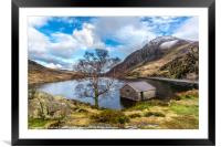Ogwen Lake, Framed Mounted Print