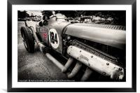 Bentley Classic, Framed Mounted Print