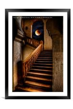 KTM Stairway Moon, Framed Mounted Print